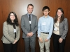 2016-05-02 Foundation Pres Marisa Sterling with Undergraduate Scholarship Recipients