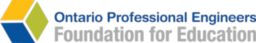 Logo Ontario Professional Engineers Foundation for Education